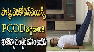Pcod Problem Solution In Telugu   Pcod Problem Solution In Yoga   Yoga For Beginners In Telugu