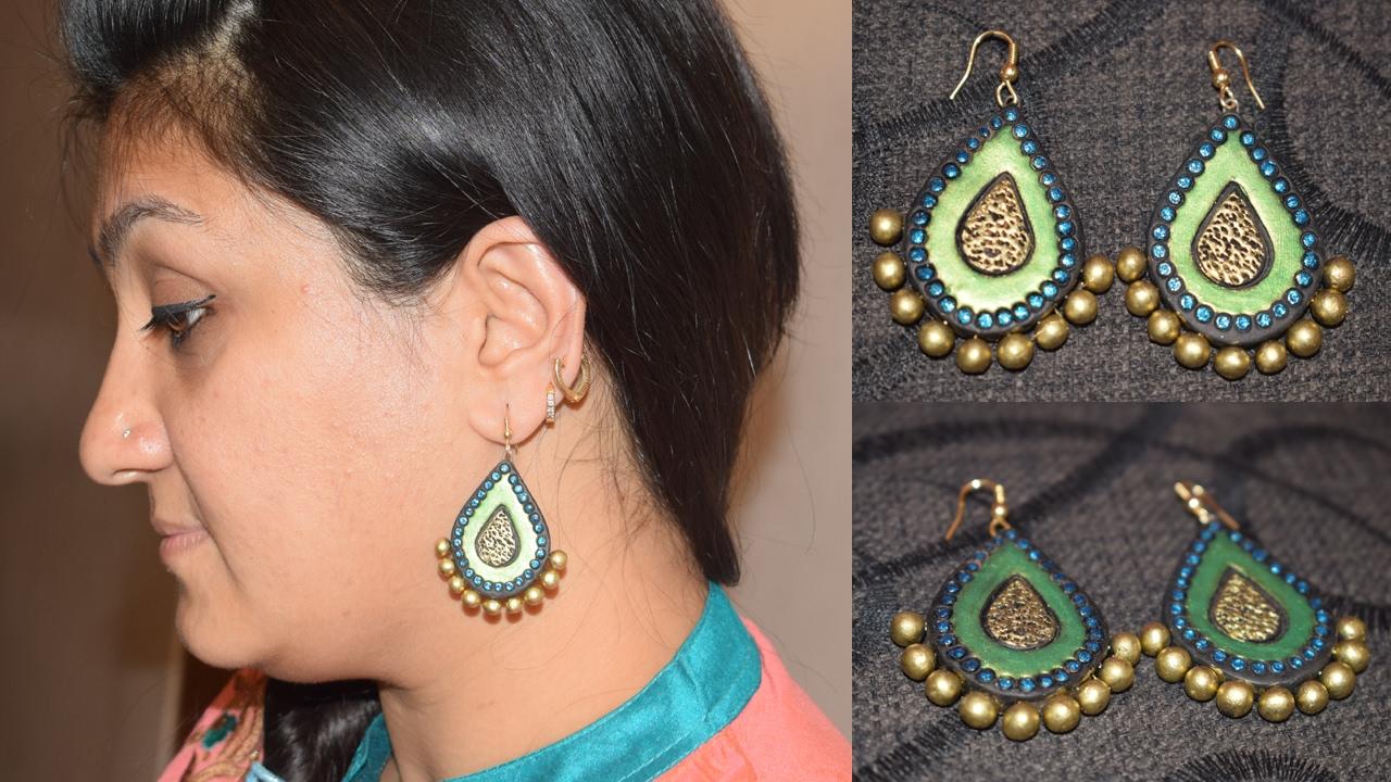 Terracotta Jewellery Making Earring Earrings Women S Special You