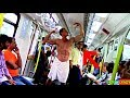 AWKWARD MORNING SITUATIONS IN THE TRAIN !! PRANK !!