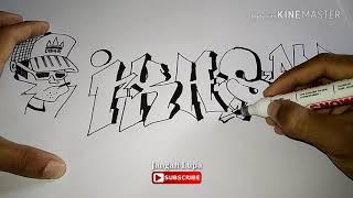 Download Video Gambar grafiti nama ikhsan MP3 3GP MP4