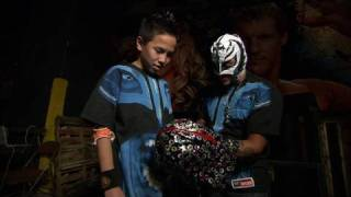 Rey Mysterio meets the mask contest winner