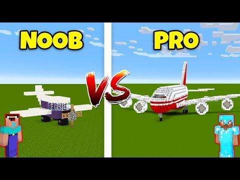 Minecraft NOOB vs. PRO: AIRPLANE in Minecraft! AVM SHORTS Animation thumbnail