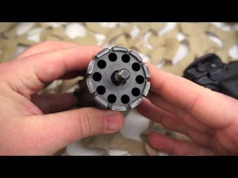 Leinad Cobray 10 Shot 22WMR Pepperbox Derringer Overview - Texas Gun Blog