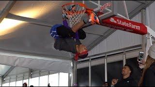 Lil' Durk, Jadakiss, John Collins Shut It Down at BRxNC Dunk Contest, Celebrity Game