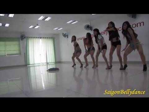 SaigonBellydance|Ms. Ly Ngoc|Sexy dance 1 Lớp học Clubbing dance