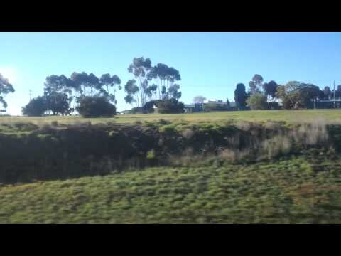 Marshall to South Geelong on the VLocity 160