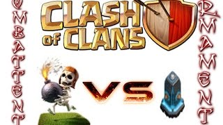 Clash of Clans-Armamenti vs combattenti-Spaccamuri vs mura