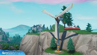 Visit Different Wind Turbines in a Single Match - Fortnite (Season 9 Challenge)