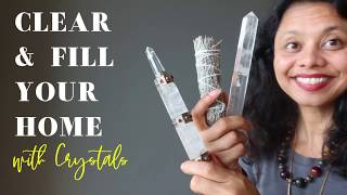 How to Use Crystals to Clear & Fill the Home with Healing Energy