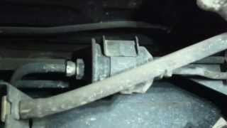 Fuel filter replacement Toyota Tundra Install Remove Replace Gas