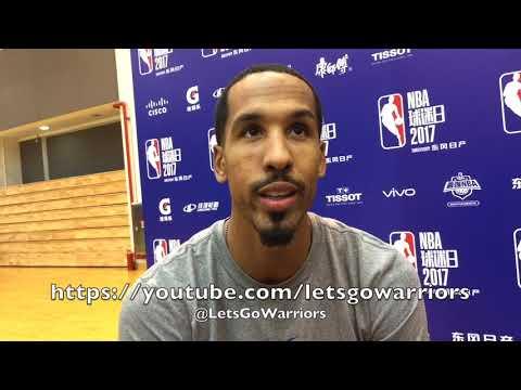 SHAUN LIVINGSTON, Golden State Warriors media availability in Shanghai, NBA China Games