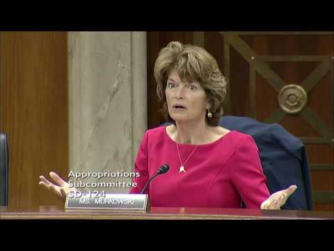 Senator Murkowski Questions EPA Administator Pruitt on a Clean Water Act Permit for Bristol Bay
