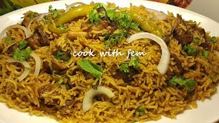 Mutton Pulao Recipe - Eid Special Pulao - Simple & Easy Recipe By Cook With Fem