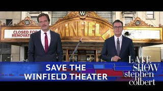 Michael Shannon And Stephen Colbert Come Together For A Great Cause