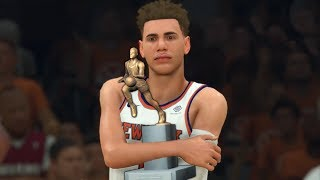 NBA 2K20 LaMelo Ball My Career Ep. 39 - LAMELO WINS MVP?