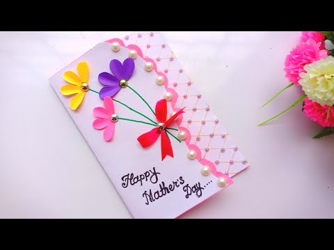 DIY Mother's Day card / Mother's Day  card making / balloon card for Mom.