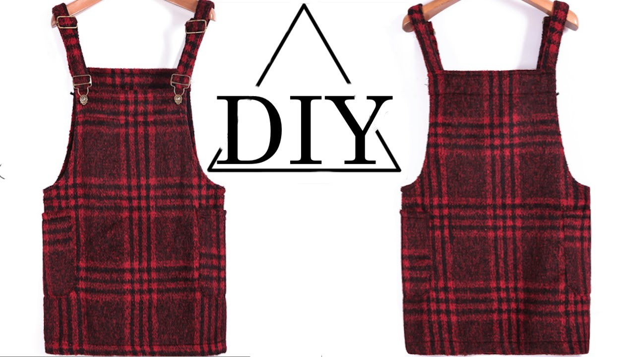 How to make a plaid overall dress diy shania youtube its youtube uninterrupted jeuxipadfo Image collections