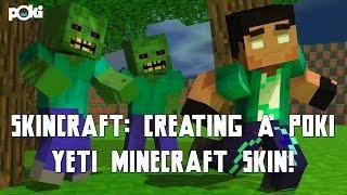 Skincraft! Minecraft Poki Yeti Skin!
