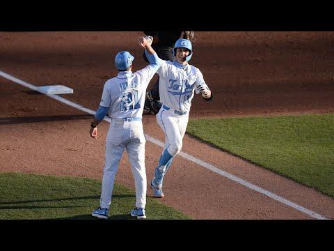 Video: UNC Baseball Takes Game 1 vs. Virginia - Highlights