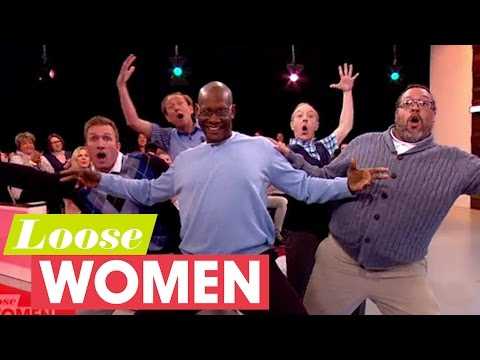 Old Men Grooving Bust A Move | Loose Women