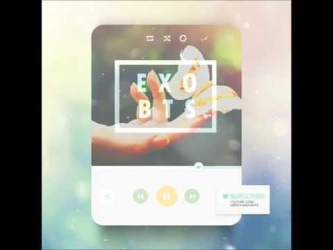 [MASHUP] EXO & 방탄소년단 (BTS) - 나비소녀 (Don't Go) + Butterfly Remix.