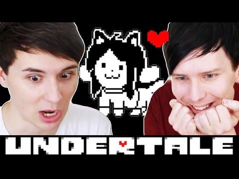 TEMMIE VILLAGE! - Dan and Phil play: Undertale #5