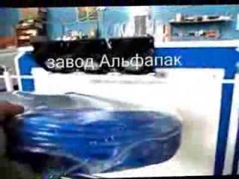 видео: Упаковка бухт упаковка кабеля в полиэтилен