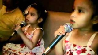 "Lagu Terbagus ""IBU""Haddad Alwi Feat Farhan Versi Kembar Syafa dan Syifa"