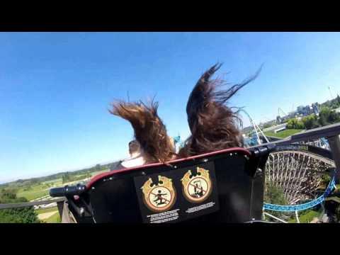 Attraction Wodan - On Ride (Europa Park) 2017 streaming vf