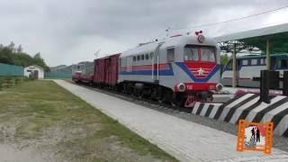 Свободненская детская железная дорога. (Малая Забайкальская железная дорога.) 2016г.