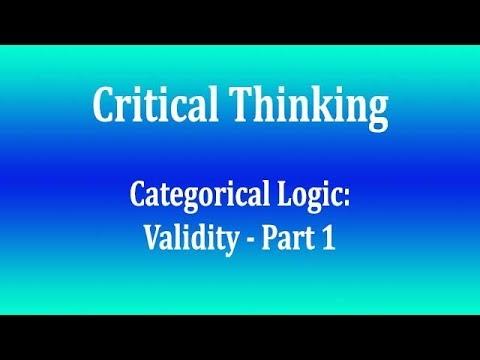 Categorical Logic   Validity Part 1