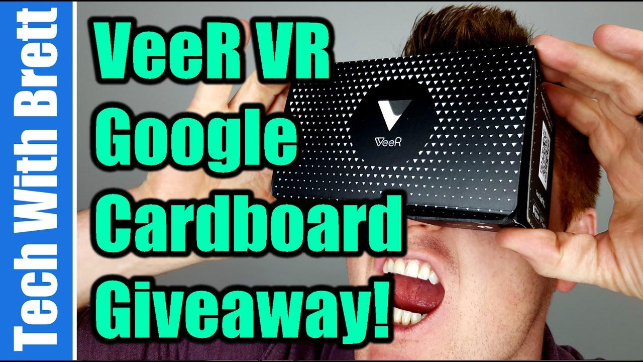 251f722a48d9 VeeR VR Google Cardboard Tutorial - YouTube