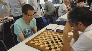 Георгиев - Гетманский. Чемпионат мира по международным шашкам 2019 (блиц)
