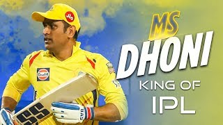 "Thala Dhoni "" KING OF IPL"" – Unknown Facts of IPL 2019 