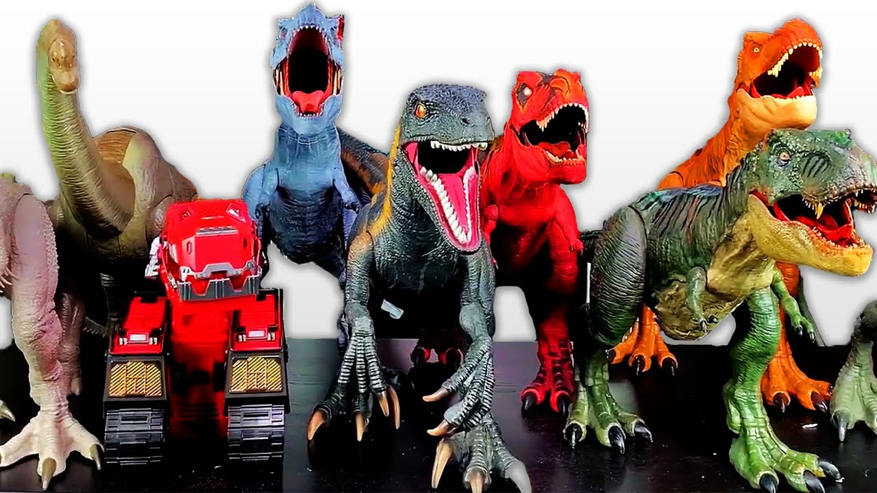 NEW Jurassic World Toys 50+ Gallon Box! Dinosaurs, T-Rexes, Indominus Rex, and More!