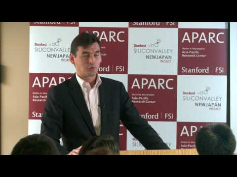 Kenji Kushida | Stanford Silicon Valley New Japan Project   2.7.17