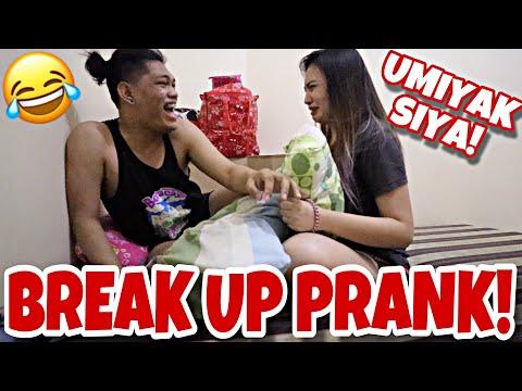 BREAK UP PRANK!!!