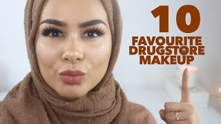 TOP 10 Affordable Drugstore/High Street Makeup Products | Drugstore Beauty Favorites
