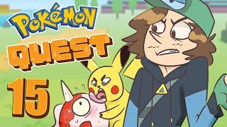 Pokemon Quest Gameplay - Collecting All 151 Pokemon   Part 15: All Set