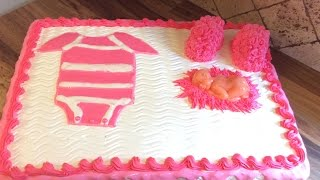 PASTEL O TORTA O BIZCOCHO ( De Baby Shower ) Play_circle_filled
