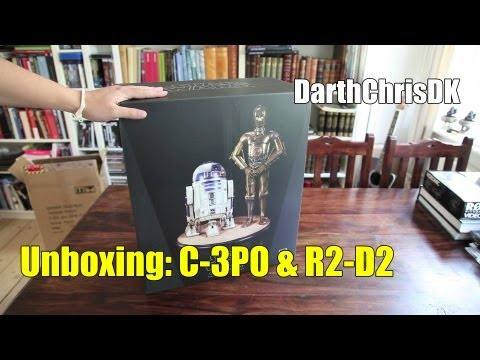 Unboxing: C-3PO and R2-D2 (Regular) Premium Format (Sideshow Collectibles)