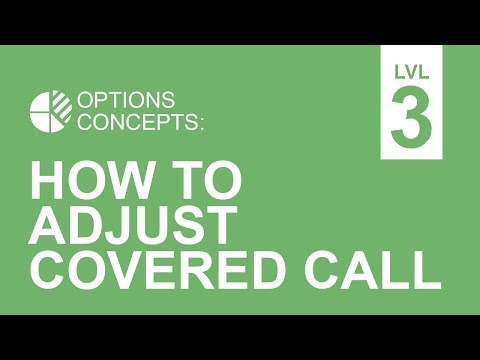 Call Options Adjustments: How To Adjust To The Market