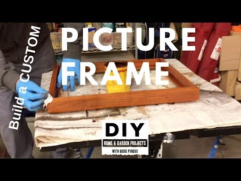 How to build a Custom PICTURE FRAME