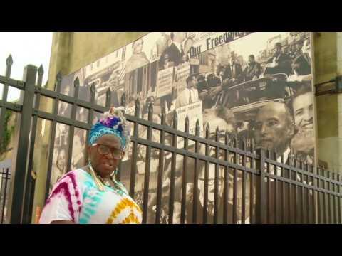 Grandmother Edna at Pennsylvania Avenue