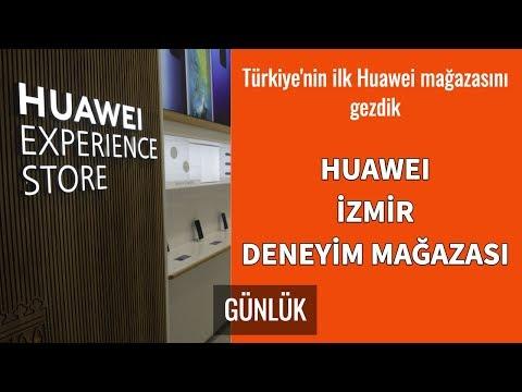 Huawei İzmir Deneyim Mağazası açılışı (Video Günlük)