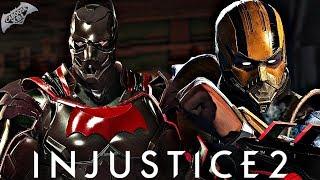 Injustice 2 Online - THE DEMON BAT VS CYBER SCORPION!