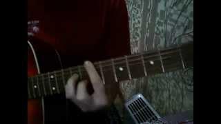 Как играть на гитаре металлика nothing else matters