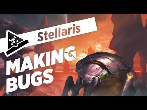 MAKING BUGS - Let's Play Stellaris - Gameplay & Custom Race Creation