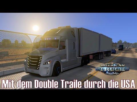 ATS I Freightliner ★ Mit dem Double Trailer durch die USA ★ #111 US Truck Tour [Deutsch/HD]
