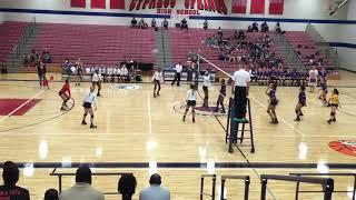 Ielan Bradley #16 - Cy Springs High School Varsity Volleyball 2017 / 2018